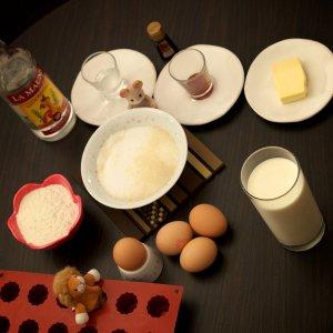 Canelés de Bordeaux • Ingrédients