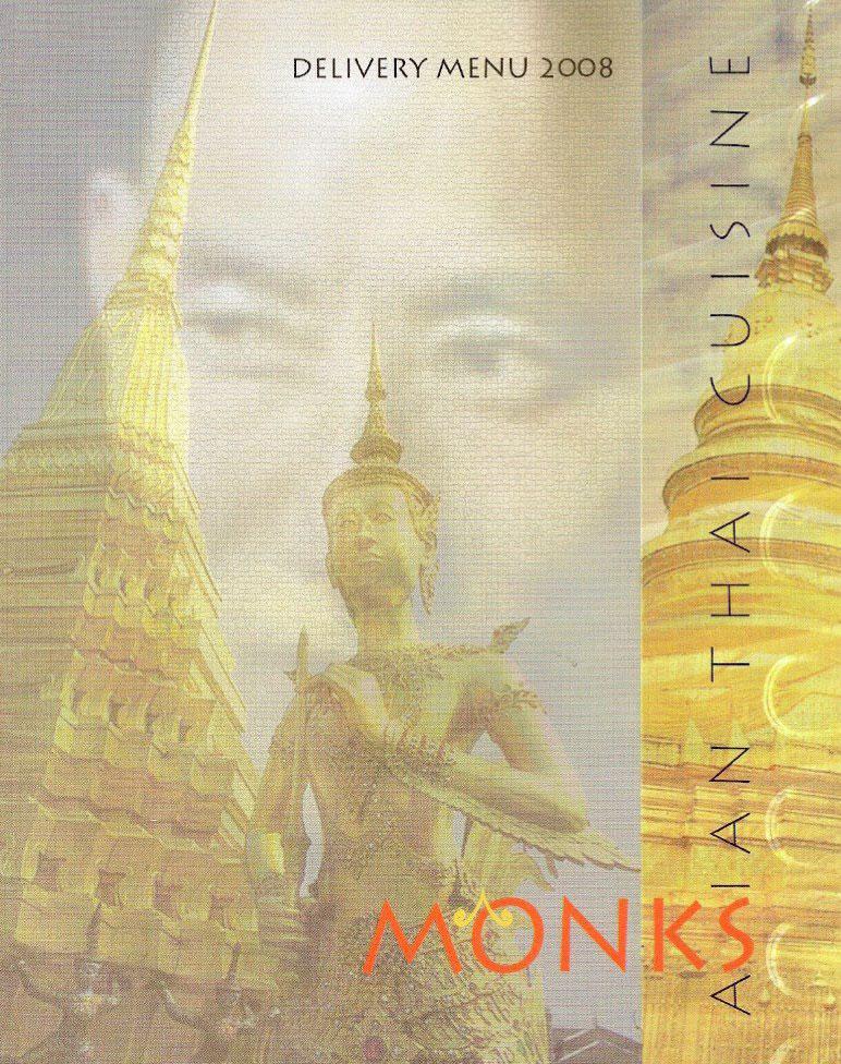 Monks Delivery Menu, Asian Thai Cuisine & Sushi, Beirut, Achrafieh