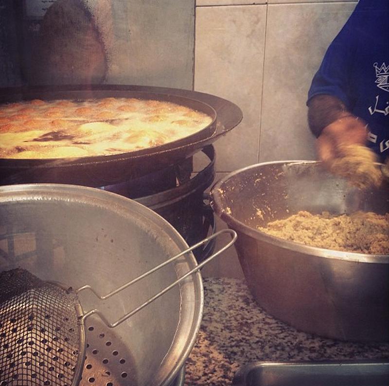 falafel-mixture