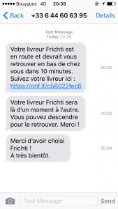 Frichti-SMS
